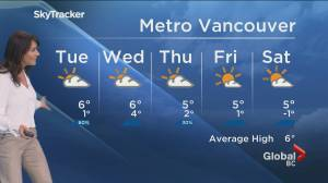 B.C. evening weather forecast:  Jan. 18 (01:49)