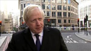 British PM Johnson calls for tougher sentences for terrorism offences
