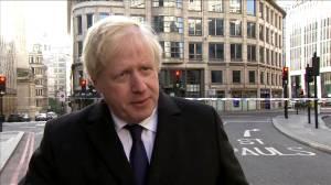 British PM Johnson calls for tougher sentences for terrorism offences