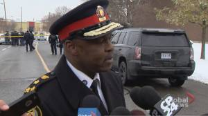 Saunders say Toronto police have 'phenomenal' track record at bringing suspects to justice