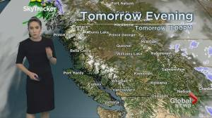 B.C. evening weather forecast: Nov 18