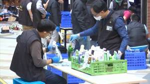 Hong Kong police say they found thousands of petrol bombs in Polytechnic University sweep