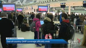 Attention travelers: Changes to OHIP now in effect