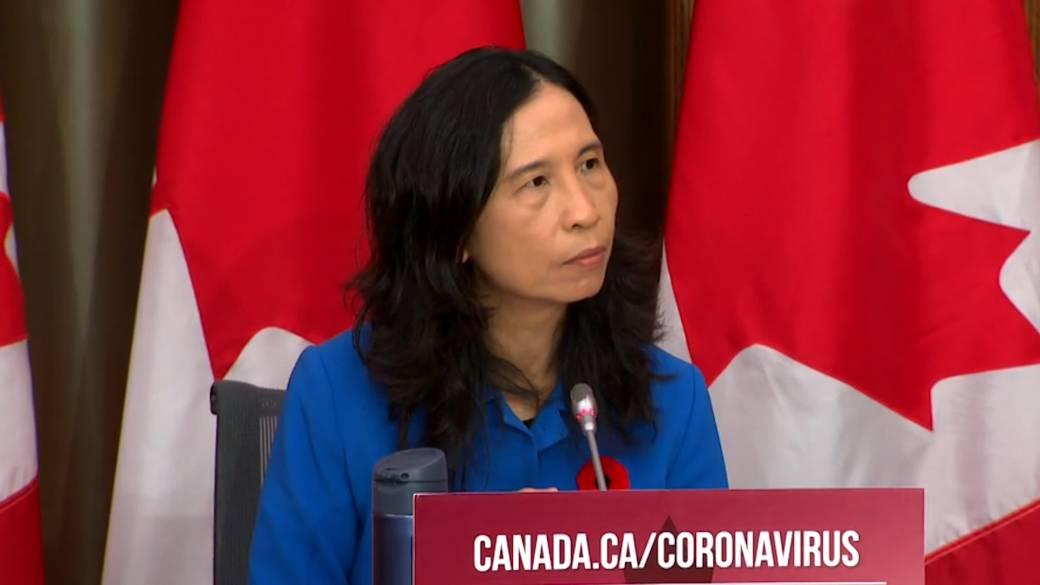 Click to play video: 'Coronavirus: Tam provides information on COVID-19 aerosol transmission'