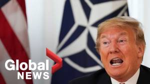 Trump on North Korea: if U.S. has to use military force, 'we'll do it' (02:13)