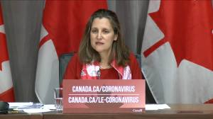 Coronavirus outbreak: Freeland says 'thoughtful' response needed when it comes to essential workers