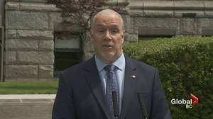 B.C. premier on school and travel as restrictions ease