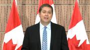 Play video: Scheer says Trudeau avoiding questions on WE Charity scandal by not appearing in Parliament