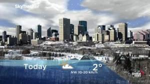 Edmonton early morning weather forecast: Tuesday, November 12, 2019