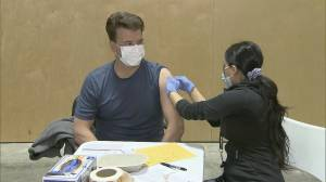 Vaccination now underway for Surrey teachers (01:45)