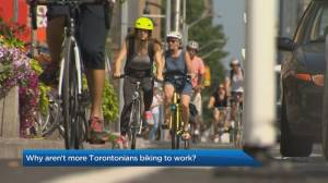 Why aren't more Torontonians cycling to work?