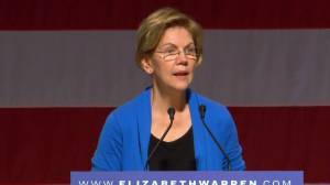 Nevada caucus: Warren says Bloomberg is a 'big threat' to U.S.