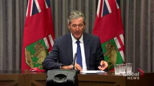 Premier says 25k more Manitobans needed to receive COVID-19 shot for 75% fully-vaccinated target (00:50)