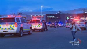 Police respond to shooting at CrossIron Mills mall north of Calgary