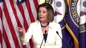 'Don't mess with me': Pelosi responds to question if she 'hates' Trump