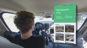 App determines whether taking the Massey Tunnel is a good plan