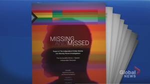 'Serious flaws' found in Toronto police missing persons investigations (03:01)