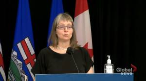 Alberta identifies 402 new cases of COVID-19, records 12 deaths from disease (00:51)