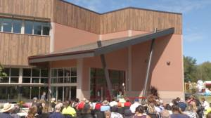 Hiawatha First Nation celebrates the opening of a new L.I.F.E. Centre (01:46)
