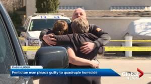 Penticton man pleads guilty to quadruple homicide (02:17)