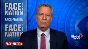New York City mayor calls for more COVID-19 vaccine doses from state, federal governments (01:55)