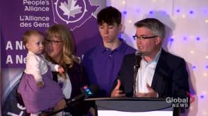 Decision New Brunswick: People's Alliance leader talks about losing a seat during concession speech