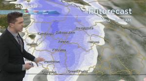 Kelowna Weather Forecast: February 24 (03:30)