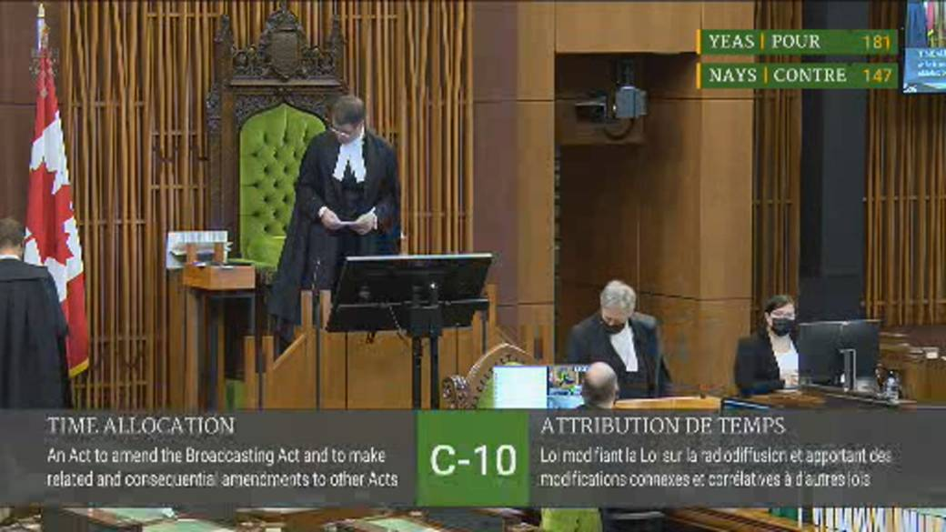 Click to play video: 'Liberals, Bloc vote to end Bill C-10 study amid social media free speech concerns'