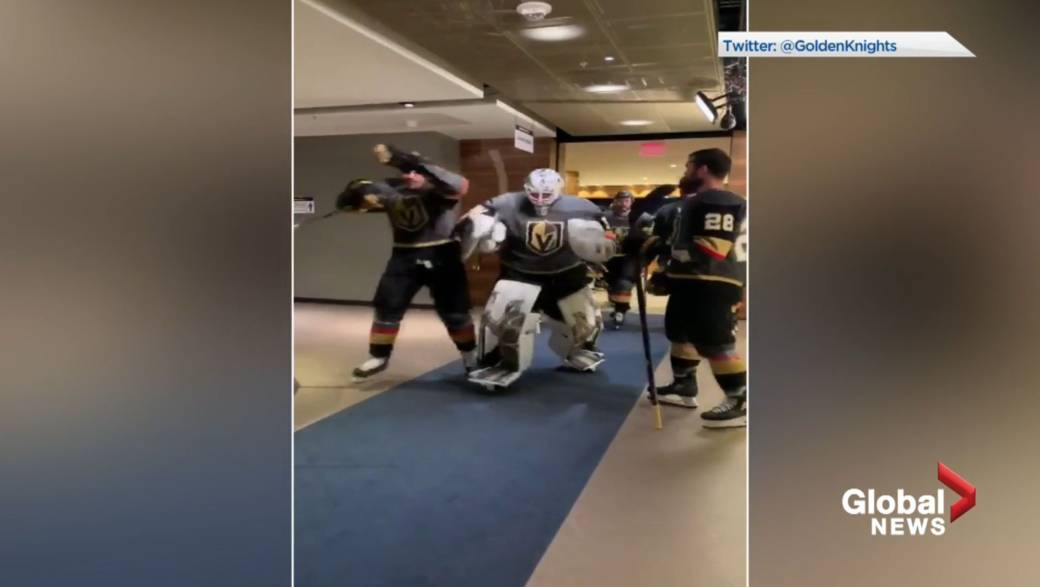 Click to play video 'Vegas Golden Knights co-owner praises NHL bubble effectiveness'