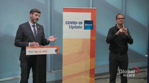 Edmonton mayor outlines obstacles to reintroducing transit fares (04:20)