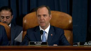 Trump impeachment hearings: Schiff full opening statement on day five