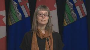 Alberta now has 19 cases of COVID-19, all travel-related: health official (01:50)