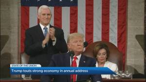 U.S. President Trump delivers his third State of the Union address