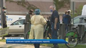 Ontario could see tighter restrictions as COVID-19 numbers rise (02:59)