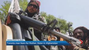 Canadian families plead for support for Afghan relatives (02:11)