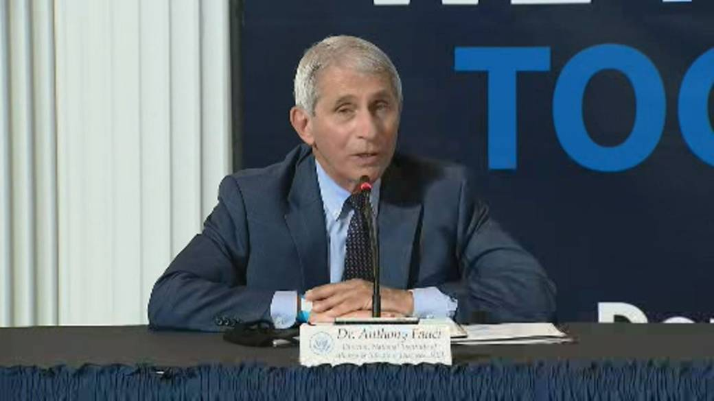 Click to play video ''We're all in it together': Fauci encourages Americans to donate plasma'