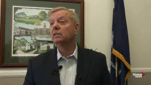 Lindsey Graham says he is pushing for forces back in Syria as new ISIS leader named