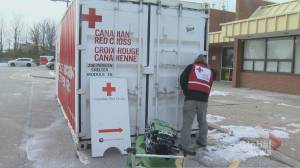 Red Cross assisting fire victims following tragic blaze that left one dead