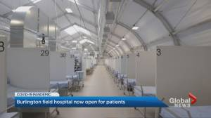 Burlington's Joseph Brant Hospital opens Pandemic Response Unit to patients (01:33)
