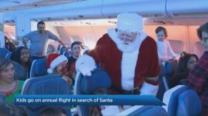 Children's Wish Foundation's search for Santa