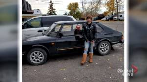 Family pleads for people to report abandoned vehicles after rare Saab stolen