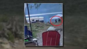 Frightening campsite encounter at Chehalis Lake (02:08)