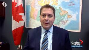 Andrew Scheer weighs in on proposed $82B COVID-19 relief package