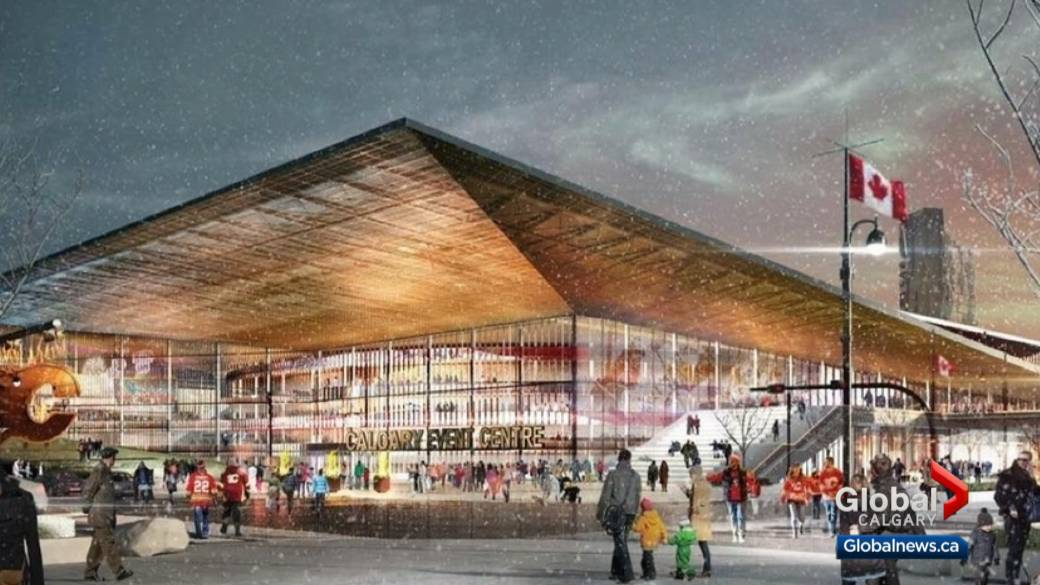 Calgary Flames Stampede Sign Deal For New Arena Globalnews Ca