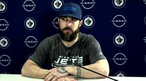 RAW: Winnipeg Jets Mathieu Perreault Interview – Mar. 4 (05:46)
