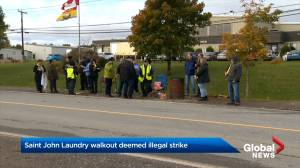 New Brunswick Labour Board finds laundry strike to be illegal