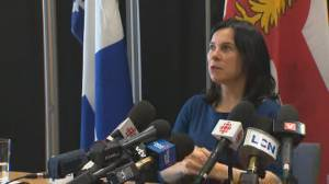 Coronavirus outbreak: Montreal officials to be deployed to airport 'to secure the frontier' (01:35)