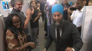 NDP opens campaign headquarters ahead of writ drop