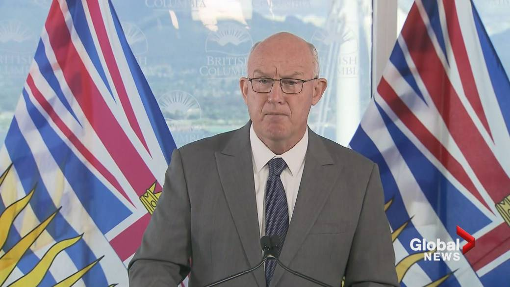 'B.C. declares a provincial authorities   of exigency  owed  to the wildfires'