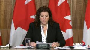 2021 auditor general report: Canada's ship building strategy slow to deliver (01:48)